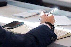 Konferenz Schreiben Bewerbung schreiben