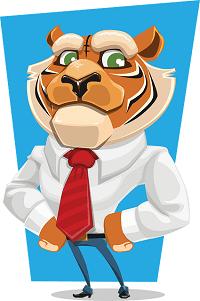 Tiger Bewerbung schreiben