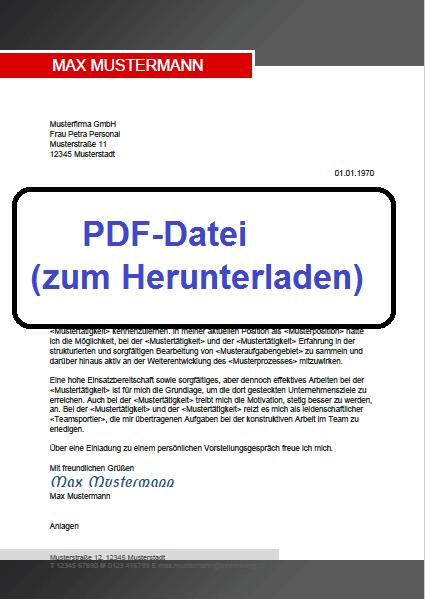 PDF-Datei 2 Bewerbung schreiben
