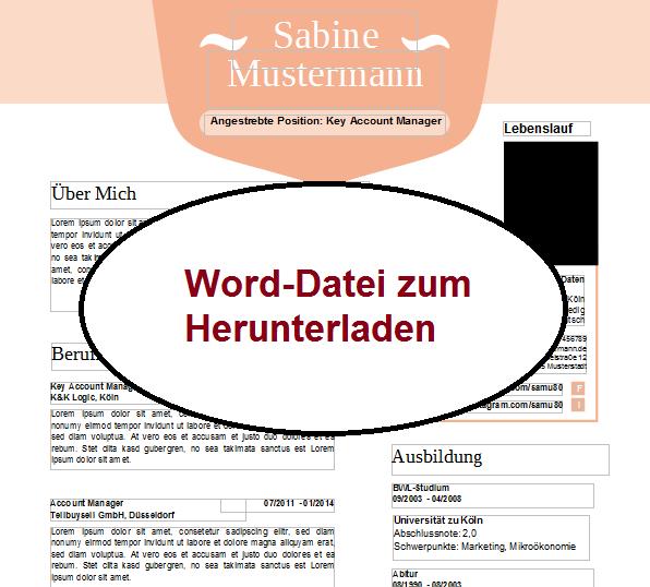 Word Datei Bewerbung schreiben