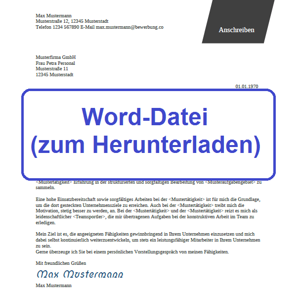 Word-Datei